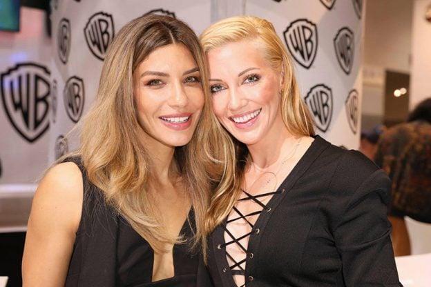 Arrow: Juliana Harkavy and Katie Cassidy