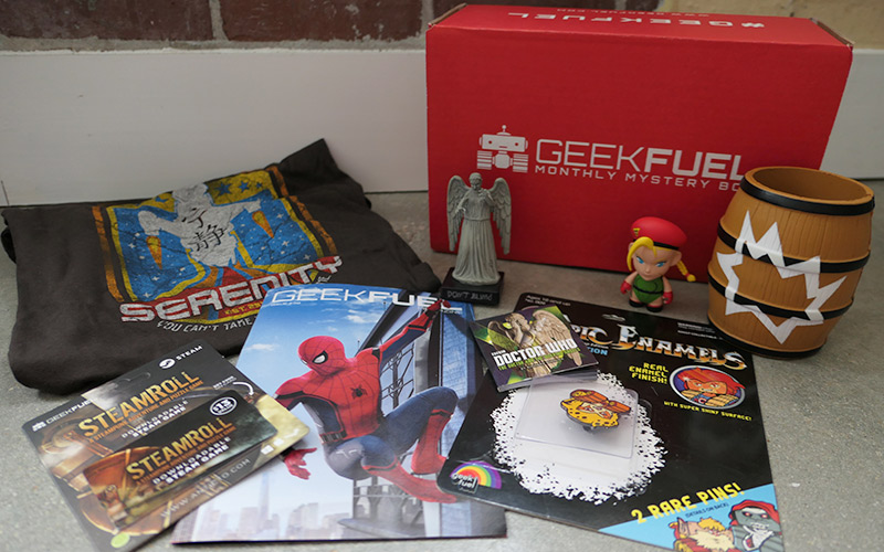 Geek Girl Review: July 2017 Geek Fuel Subscription Box