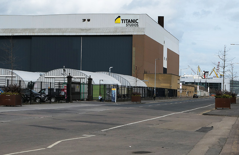 Belfast City Seeing Bus Tour: Titanic Studio