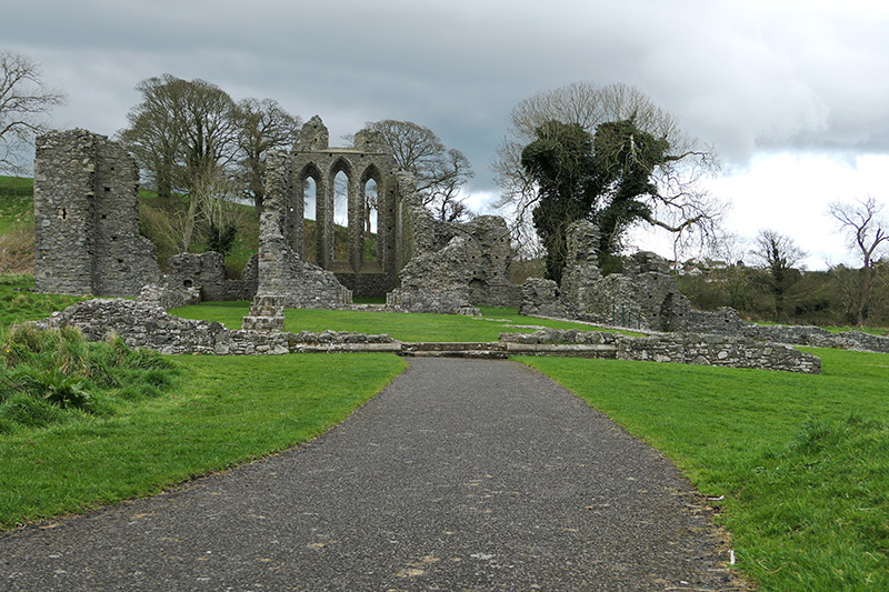 Game of Thrones Filming Location in Northern Ireland: Inch Abbey - Robb Stark's Camp, Riverrun
