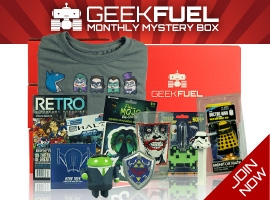 Geek Fuel Subscription Box Banner