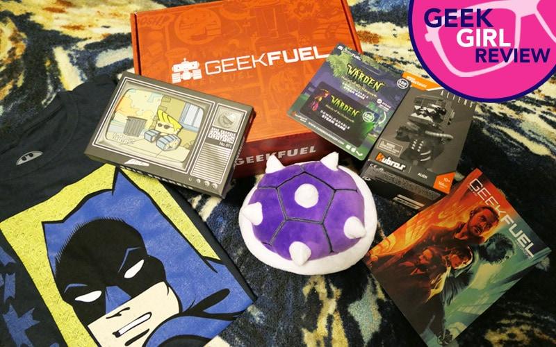 Geek Girl Review: Geek Fuel September 2017
