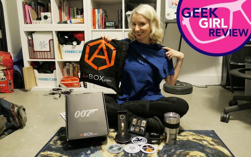 Geek Girl Review: James Bond 007 A-BOX