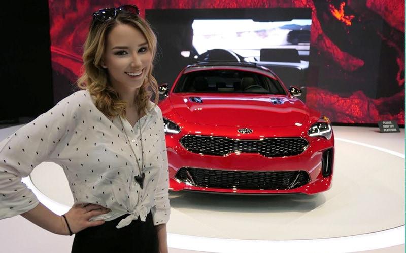 Geeking Out Over the Kia Stinger at the 2018 Atlanta International Auto Show