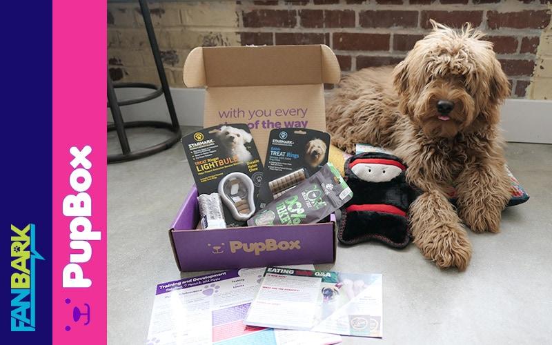 FanBark: Pupbox March 2018