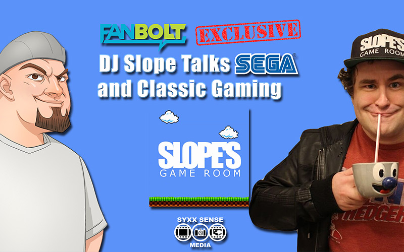 Exclusive: DJ Slope Talks SEGA and Classic Gaming