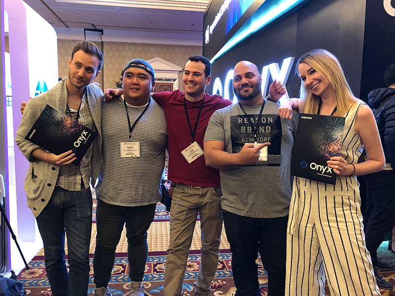 Samsung Onyx - CinemaCon Influencers