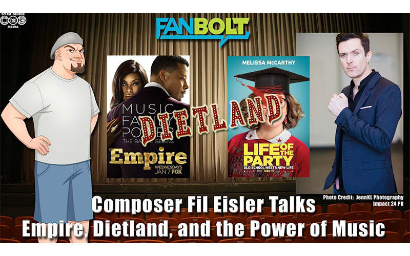 Fil Eisler Talks 'Empire,' 'Dietland,' and the Power of Music