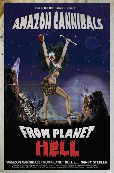 Slaughter Sinema - Amazon Cannibals from Planet Hell