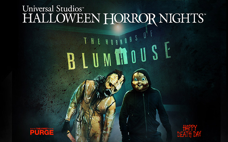 Orlando's Halloween Horror Nights Final Houses Announced for 2018!