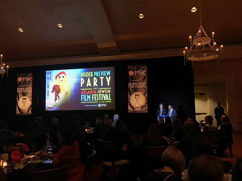2019 Atlanta Jewish Film Festival Preview Party: A Fun Night to Learn about the Great Lineup