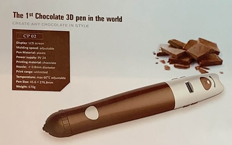 Chocolate 3D Pen