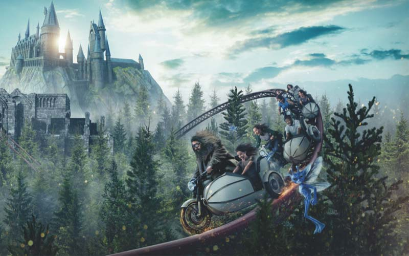 Hagrid to Take Guests on a Ride at Universal Orlando
