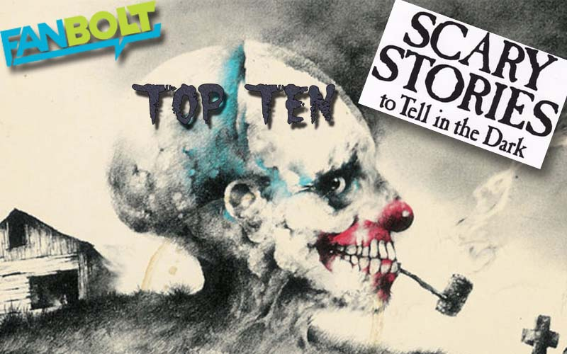 FanBolt's Top Ten Scary Stories to Tell in the Dark