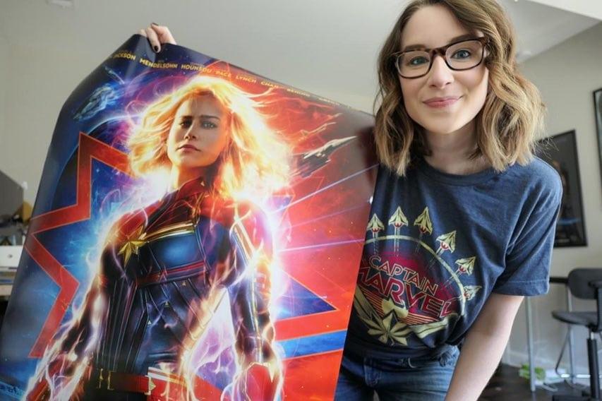 Captain Marvel - Emma Loggins