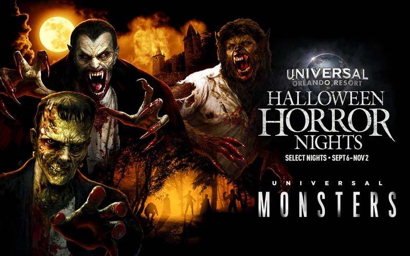 Classic Monsters Return to Universal Studios' Halloween Horror Nights