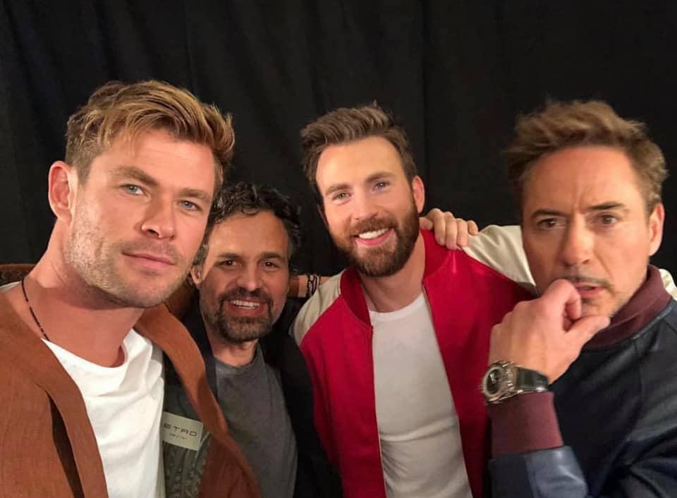 Avengers: Endgame Press Tour