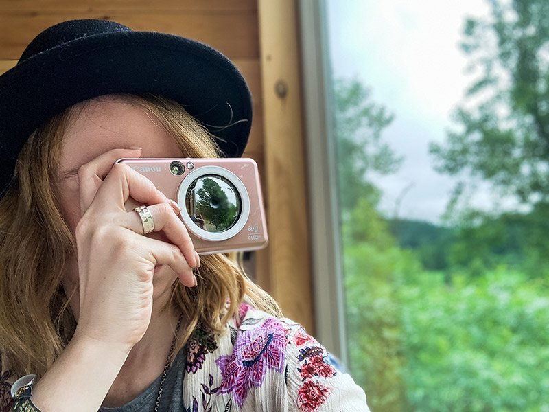 Geeking Out With the New Canon IVY CLIQ+ Instant Print Camera