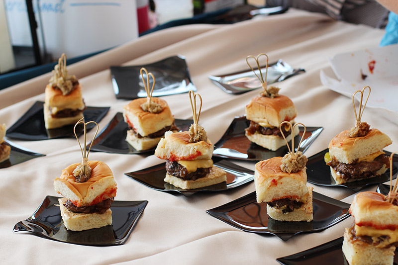 Beau Rivage Resort and Casino's Landmass Burger