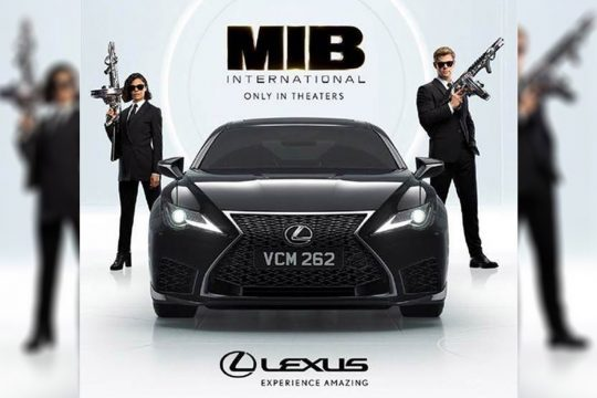 Men in Black Movie Lexus