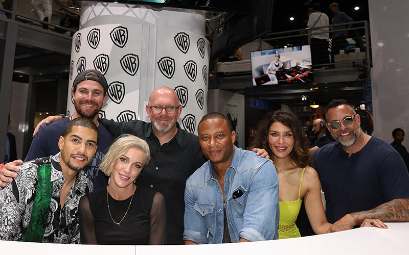 Katie Cassidy, Juliana Harkavy, and Rick Gonzalez Tease Final Season of 'Arrow'