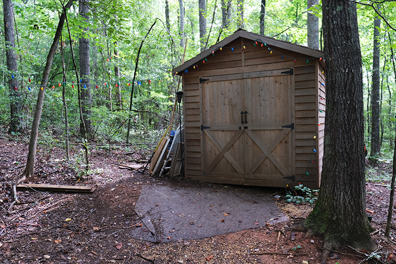 Stranger Things Tour - Atlanta Movie Tours - Hoppers Cabin