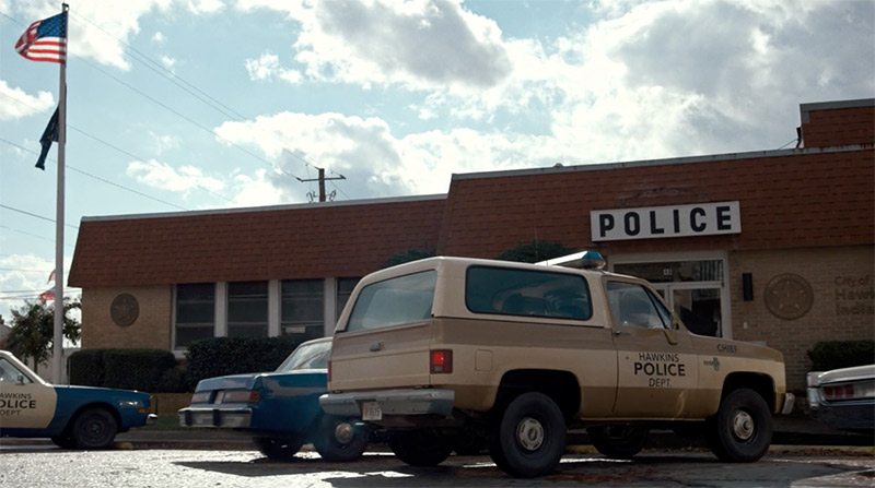 Stranger Things Police Station - Hawkins Police Station