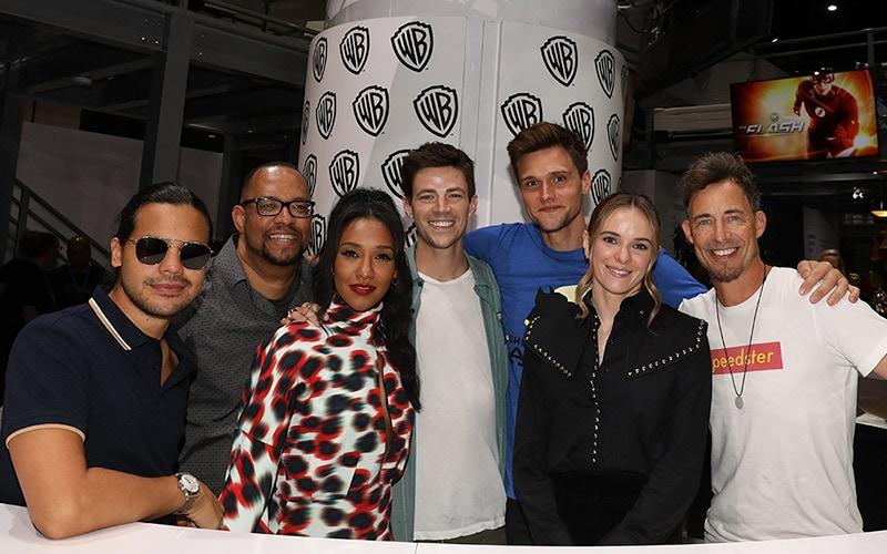 Danielle Panabaker, Carlos Valdes, and Hartley Sawyer Talk 'Flash' Season 6