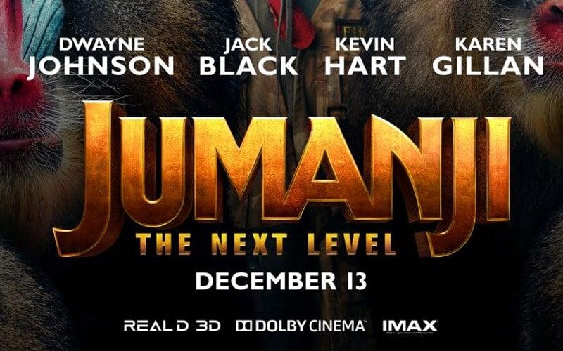 'Jumanji: The Next Level' Free Movie Screening Passes