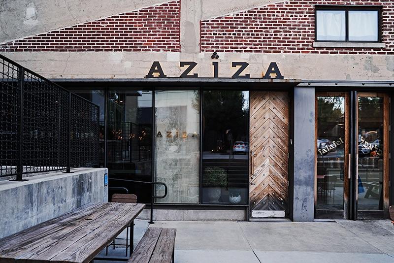 Aziza and Falafel Nation