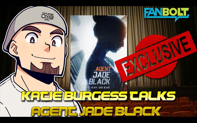 Katie Burgess Talks Spy Thriller 'Agent Jade Black'