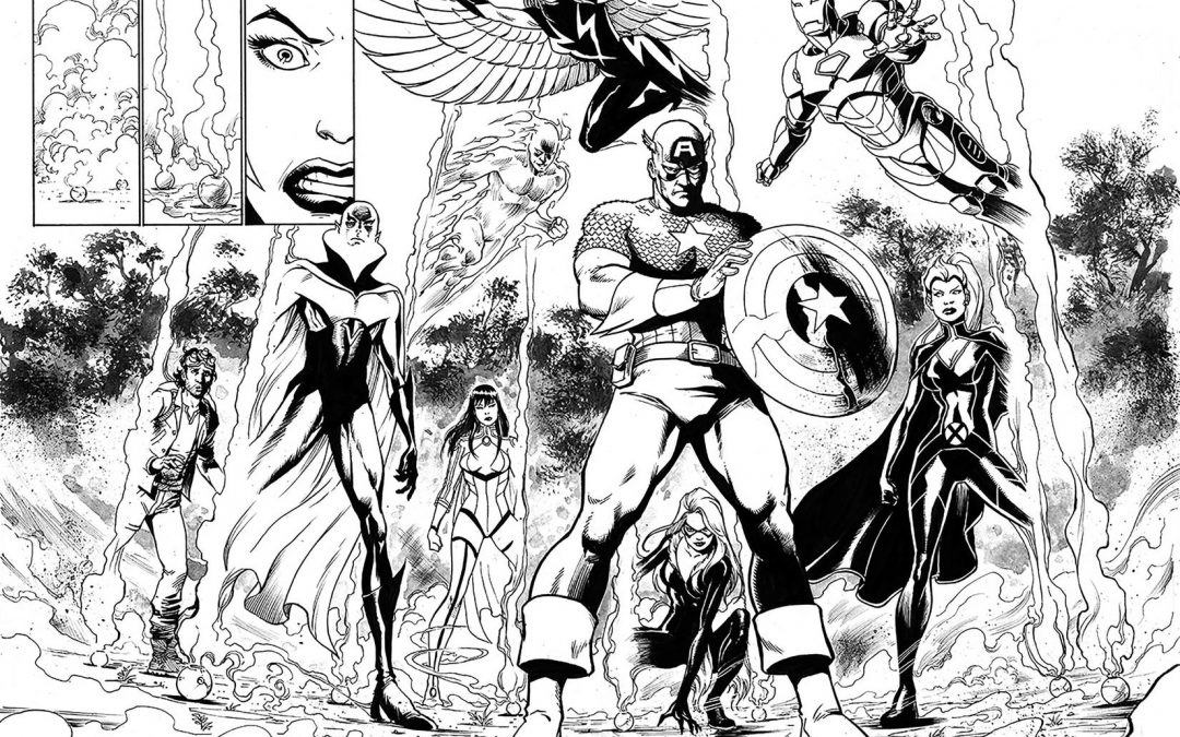 New Marvel Comics Series 'The Marvels' Set to Take Fans Across the Marvel Universe