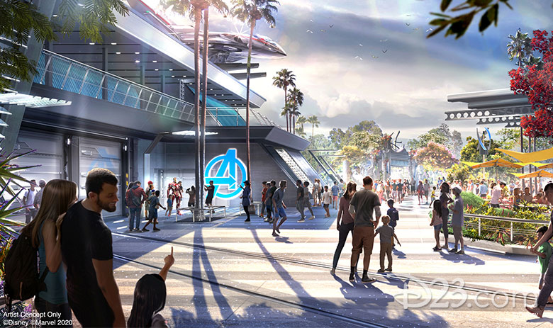 Disney's Avengers Campus Is Opening in California This Summer