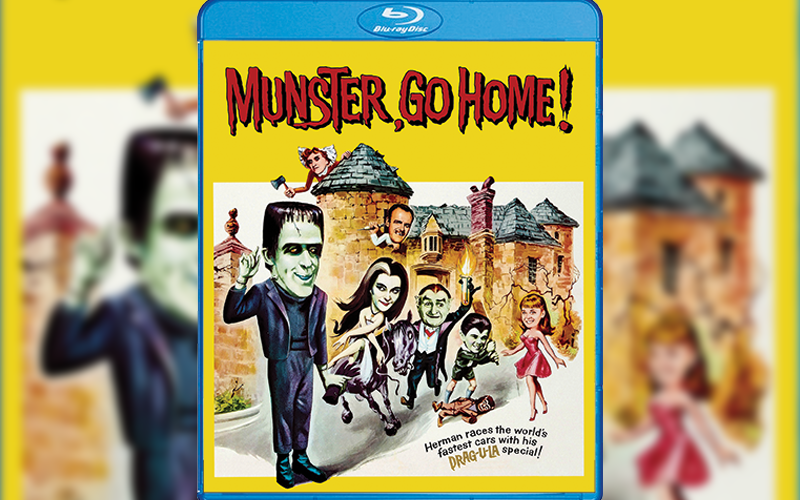 Blu-Ray Review: Munster, Go Home!