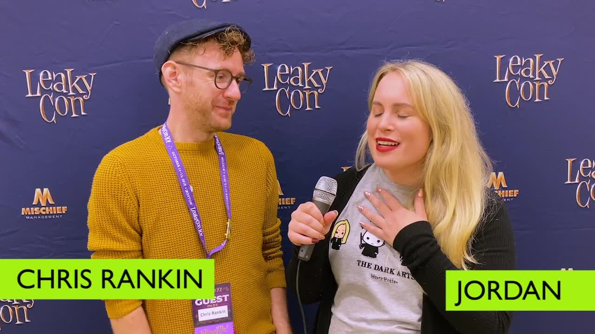 Chris Rankin - Leaky Con