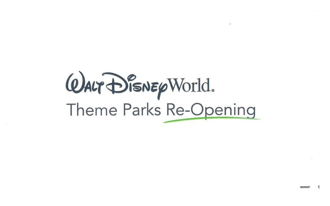Walt Disney World Reopening: Dates, Procedures, and the New Normal for the Parks