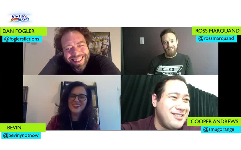 FanBolt Exclusive: On the Virtual Red Carpet with Dan Fogler, Ross Marquand, and Cooper Andrews