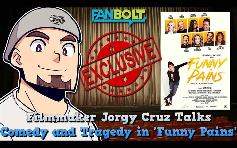 Exclusive Interview: Jorgy Cruz Talks 'Funny Pains'