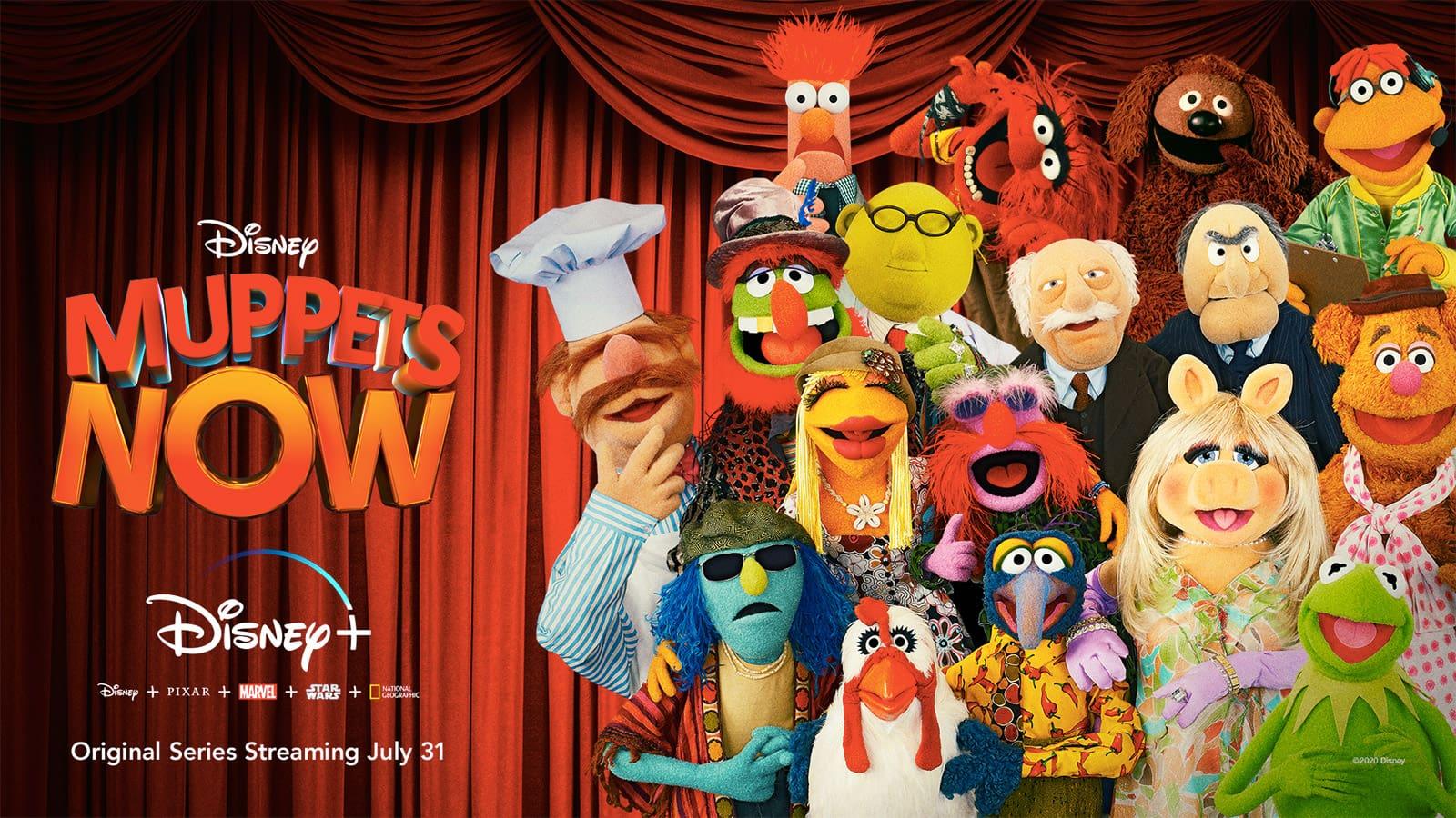 Muppets Now Keyart