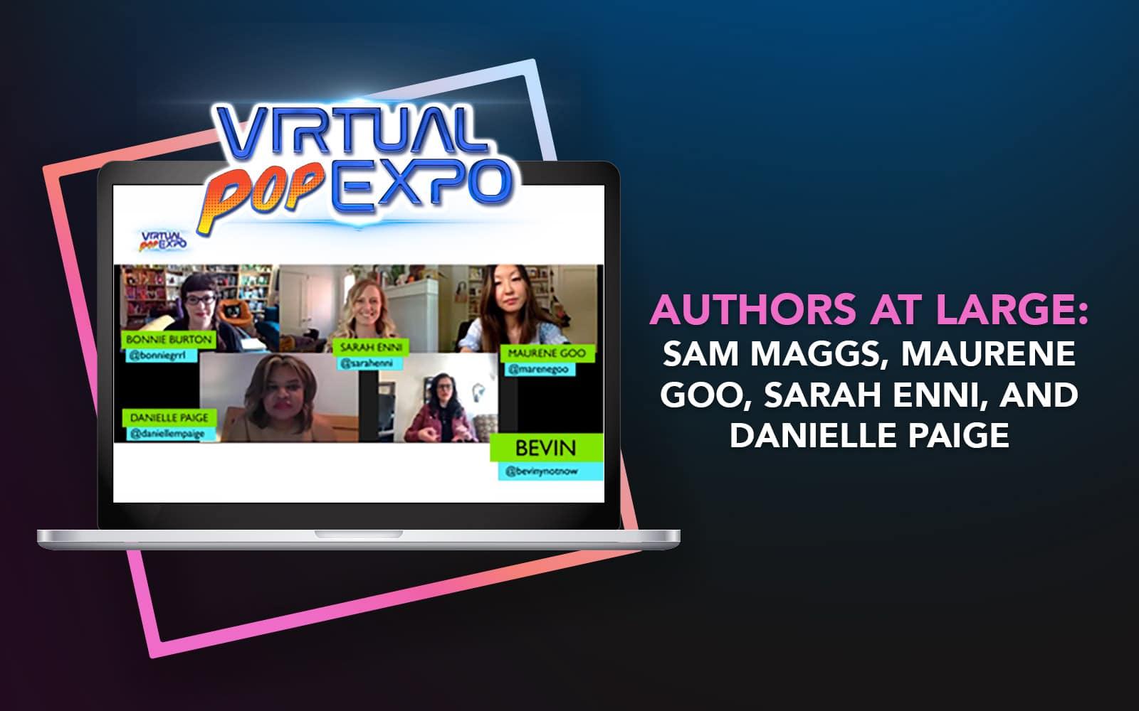 Authors at Large: Sam Maggs, Maurene Goo, Sarah Enni, and Danielle Paige