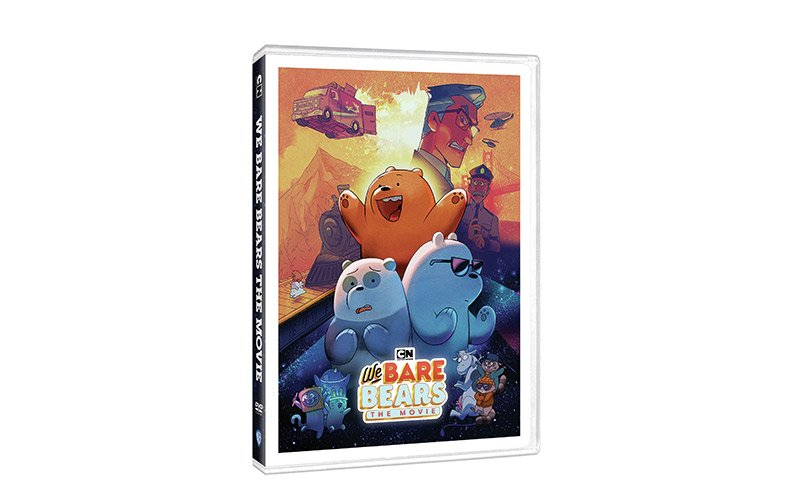 'We Bare Bears The Movie' DVD Review
