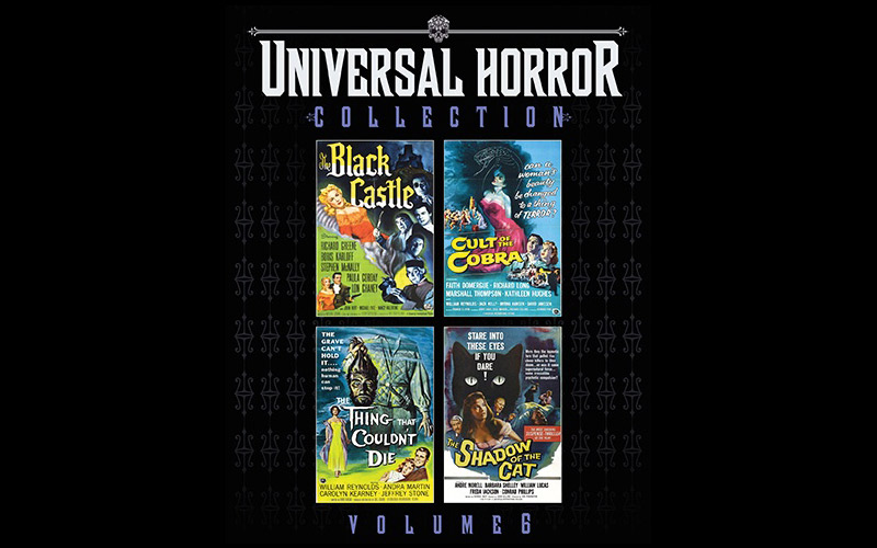 Blu-Ray Review: Universal Horror Collection Volume 6